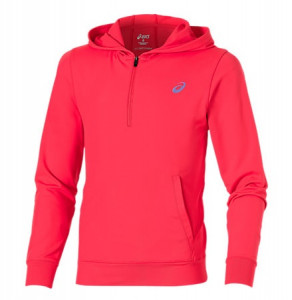 ASICS - Bluza junorska over the head hoodie diva pink
